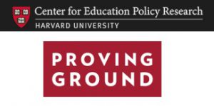 Harvard University's Center for Education Policy Research: Proving Ground